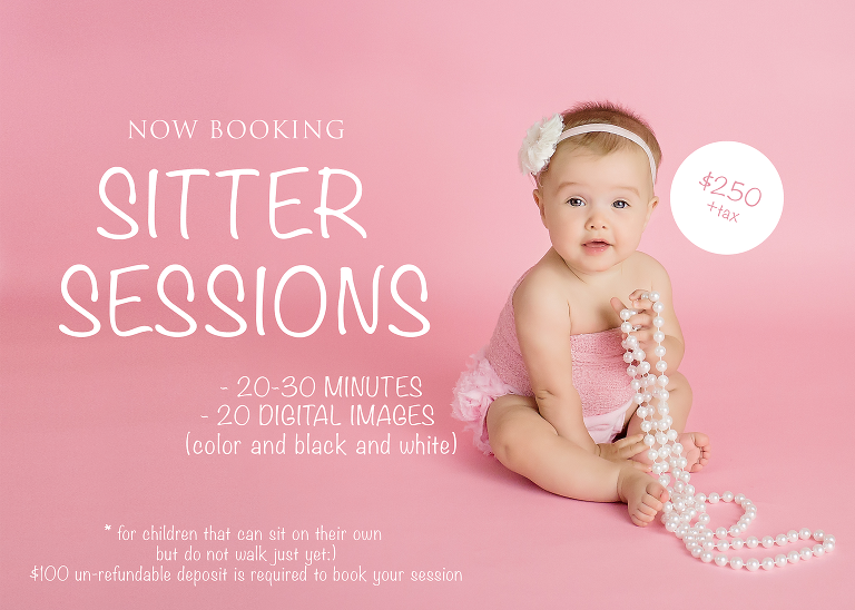 Sitter Sessions - Spring Photography Specials